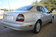 Daewoo Leganza 2002 (The one in the pic isn't mine but mine looked like this) Lol This was my first car :)