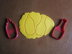 Mustard and Ketchup Bottles/Condiments Cookie/Fondant Cutters http://www.sweetprintsinc.com/collections/miscellaneous/products/mustard-and-ketchup-bottles-condiments-cookie-fondant-cutters
