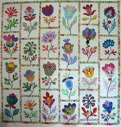 Glorious Applique: Kim McLean Flower Garden