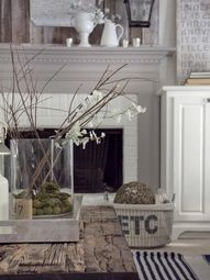 gray painted fireplace mantel - Google Search