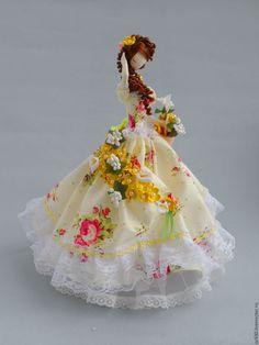 Купить Текстильная кукла.Тряпиенс. Полина 2 - тряпиенс, интерьерная кукла, японка, тряпиенса ♡
