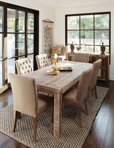 Dining table West Elm emerson Home Inspiration