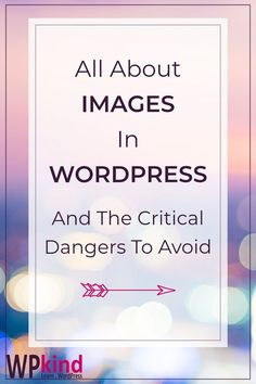 A tutorial on everything you need to know about using images on your WordPress blog. Avoid making the mistakes that can damage your blog with my tips for using images in your blog posts the right way. #bloggingtips #wordpresstips #wordpresstutorials #wordpressforbeginners #wordpress