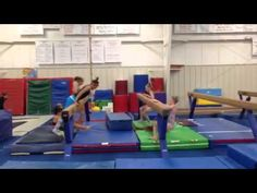 """Ah I miss gymnastics a lot. """"Snap Throughs"""" -- good for yurchenko rotation but could also use it for flattening hips on round-off and back handspring snap downs Gymnastics Lessons, Gymnastics Academy, All About Gymnastics, Gymnastics Floor, Gymnastics Tricks, Gymnastics Coaching, Gymnastics Training, Gymnastics Workout, Olympic Gymnastics"""