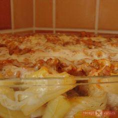 Rakott zöldbab olaszosan tésztával Hawaiian Pizza, Lasagna, Macaroni And Cheese, Ethnic Recipes, Food, Mac And Cheese, Essen, Meals, Yemek