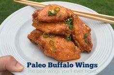 Paleo Buffalo Wings   #PopularPaleo