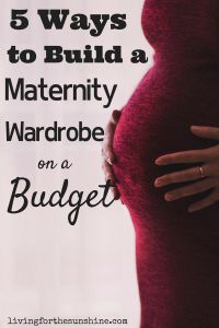 Are you worried about blowing your budget when buying maternity clothes? Learn how to build a maternity wardrobe on a budget and find maternity clothes for cheap First Pregnancy, Pregnancy Tips, Early Pregnancy, Pregnancy Wardrobe, Maternity Wardrobe, Cheap Maternity Clothes, Maternity Wear, Pregnancy Clothes, Maternity Style