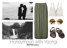"""""""Honeymoon with Yoongi"""" by btsoutfits ❤ liked on Polyvore featuring Witchery and The Last conspiracy"""