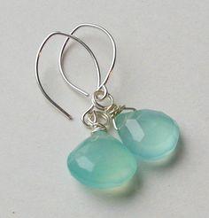 Gulf Drop silver earrings