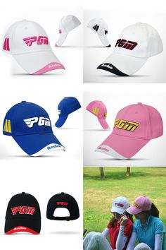 [Visit to Buy] PGM Golf Hat Golf Caps Unisex Cotton Golf Sunscreen Hat Embroidery Trademark Top Cap Golf Hats Sport Peaked Cap 5 Colors  #Advertisement