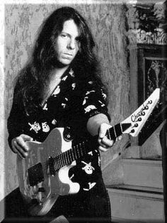 Criss Oliva of Savatage.....talented and missed, taken way too soon <3