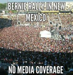 They are afraid to let America see the revolution. #StillSanders 3/27/16