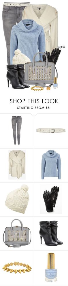 """First Sign of Cold"" by exxpress ❤ liked on Polyvore featuring Current/Elliott, Jil Sander, Exclusive for Intermix, Barbour, Free People, River Island, Burberry, Eddie Borgo, Floss Gloss and Thomas Sabo"