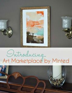 Update your decor with a one-of-a-kind piece of artwork from the Art Marketplace at @minted: http://www.jolynneshane.com/introducing-the-art-marketplace-by-minted.html
