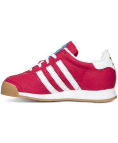 new concept 3aa70 ff6ec adidas Little Girls  Samoa Casual Sneakers from Finish Line - Pink 1  Zapatillas, Sneakers