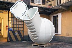 The Ground Fridge, Milan Design Week, Milan Design, Milan 2015, Milan Furniture Fair, Milan fair, Milan Expo, food storage, refrigeration, green food storage, green refrigeration, green design