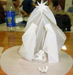 presepio em origami passo a passo - Buscar con Google
