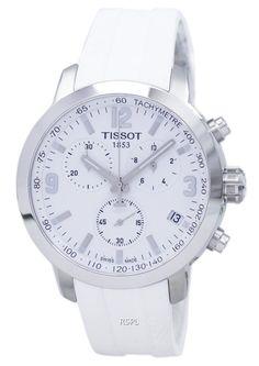 3e73426311c Montre Tissot T-Sport PRC 200 chronographe tachymètre T055.417.17.017.00  T0554171701700 hommes