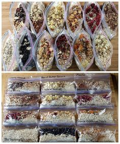 A Week of Lightweight, Nutritious Backpacking Food - How to make and pack 7 days of breakfasts, lunches, dinners & snacks for camping & hiking. Everything fits in a bear barrel. | The Yummy Life | Bloglovin'