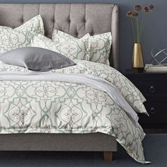Millbrook 300 Thread Count Wrinkle-Free Sateen Duvet Cover / Sham the company store