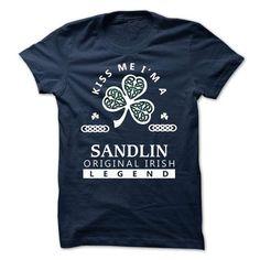 SANDLIN - KISS ME I\M Team - #gift basket #graduation gift. OBTAIN LOWEST PRICE => https://www.sunfrog.com/Valentines/-SANDLIN--KISS-ME-IM-Team.html?68278