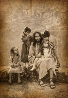 """""""Jesus said, """"Let the little children come to me, and do not hinder them, for the kingdom of heaven belongs to such as these."""" ~ Matthew 19:14"""