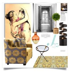 """Jazz...Baby"" by ildiko-olsa ❤ liked on Polyvore featuring interior, interiors, interior design, home, home decor, interior decorating, Fatboy, Midwest of Cannon Falls, Arteriors and Maison Margiela"