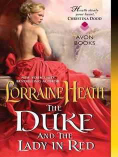 Cover of The Duke and the Lady in Red