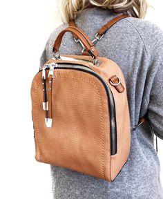 724e1bd2867 60 Best Leather Backpack images   Leather backpacks, Taschen, Beige ...