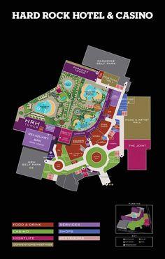 Property Map   Hard Rock Hotel and Casino Las Vegas