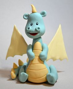 Fondant Dragon Step-by-Step Tutorial