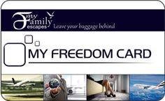 My Freedom Card - Amazing travel benefits - One card Huge Savings!!