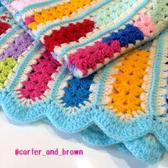 scrap blanket. Pattern is called Mile-a-Minute
