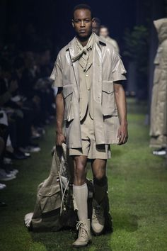 Moncler Gamme Bleu Spring/Summer 2017 Menswear Collection.