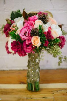 #Bouquet on #SMP Weddings: http://www.stylemepretty.com/canada-weddings/alberta/calgary/2013/12/31/1920s-new-years-eve-inspiration/  Photographik