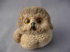 Saw-whet Owl Backyard Birds Small Figurine ~ Made In USA ~ Adorable!   eBay