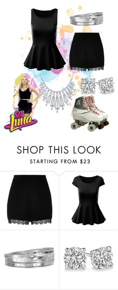 soy luna by maria-cmxiv on Polyvore featuring moda, River Island, Bling Jewelry and MM6 Maison Margiela