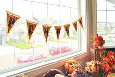 Fall, Home Decor, Silhouette,