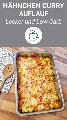 Chicken Curry Casserole (Low Carb) A delicious low carb chicken curry casserol. - Chicken Curry Casserole (Low Carb) A delicious low carb chicken curry casserole that is also perf - No Calorie Foods, Low Calorie Recipes, Healthy Recipes, Protein Recipes, Keto Recipes, Low Fat Diets, Low Carb Diet, Paleo Diet, Vegetarian Keto