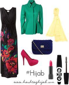 Hijab Fashion 2016/2017: Hashtag Hijab Outfit #2  Hijab Fashion 2016/2017: Sélection de looks tendances spécial voilées Look Descreption Hashtag Hijab Outfit #2