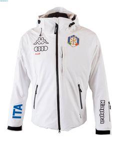 Kappa Men Italian Alpine Team FIS Jacket - White