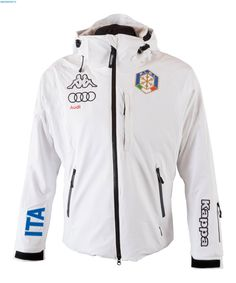 Kappa Men Italian Alpine Team FIS Jacket - White