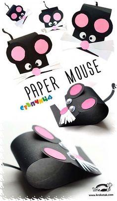 55 Super Ideas Diy Paper Animals For Kids Art Projects Animal Crafts For Kids, Toddler Crafts, Diy For Kids, Funny Crafts For Kids, Cat Games For Kids, Paper Crafts For Kids, Fun Crafts, Arts And Crafts, Older Kids Crafts