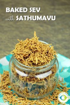 BAKED SEV WITH SATHUMAVU for Toddlers, Kids & Family