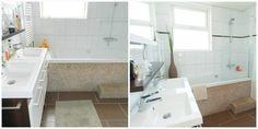 Badkamer voor en na verkoopstyling
