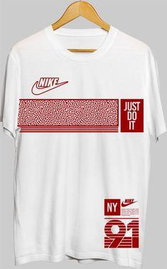 Referência,para arte com faixa horizontal com desenhos... Usar como a Nike colocar a logo dentro da faixa ou ao lado