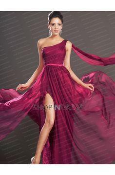 Burgundy Prom Dress 2015