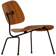 Rare zebra edition of the Eames LCM chair for Herman Miller featuring and polyvore,