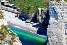 Etretat's beach, one of the most beautiful parts of Nothern France.
