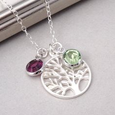 Family Tree of Life Necklace Mothers Necklace by BeautifulAsYou